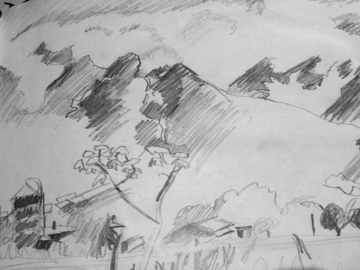 sw-Zeichnung